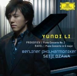 [미개봉] Yundi Li (윤디 리), Seiji Ozawa / 프로코피에프 & 라벨 : 피아노 협주곡 (DG7526)