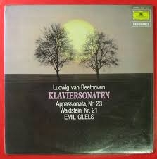 EMIL GILELS : 베토벤 피아노 소나타 제23번 & 제21번 ///LP1