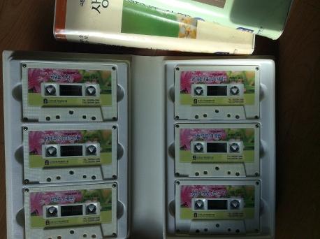 생명의 소리 3 테이프 6개