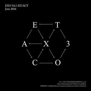 [미개봉] 엑소 (Exo) / 3집 - Ex'act (Chinese Ver.) (Monster Ver./미개봉)
