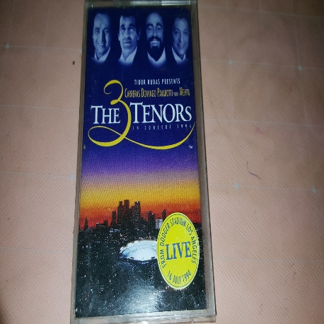 (중고 카세트 테이프) The tree Tenors - The 3 Tenors in concert