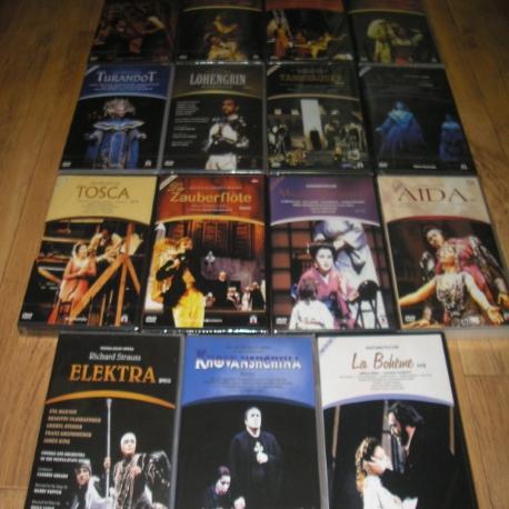 오페라 15종(21disc) 로엔그린,호반시치나,엘렉트라,아이다, 카르멘, 세빌 (새상품 입니다.) 새상품 입니다.