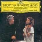 Anne-Sophie Mutter, Herbert Von Karajan / 모차르트 : 바이올린 협주곡 3, 5번 (DG0197)