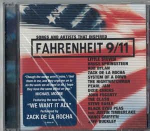 [수입] V.A - Songs And Artists That Inspired Fahrenheit 9/11