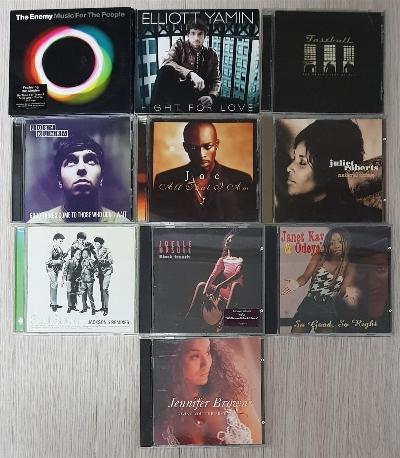 팝 음반 10장 세트