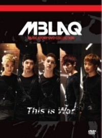 [DVD] 엠블랙 (M-Blaq) / 전쟁이야 Music Story DVD Collection [2DVD+50P PhotoBook/미개봉]