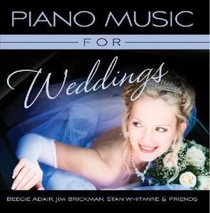 [미개봉] Beegie Adair, Jim Brickman, Stan Whitmire / Piano Music For Weddings (미개봉)