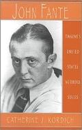 John Fante (United States Authors Series)
