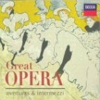 GREAT OPERA / OVERTURES & INTERMEZZI (2CD) 미개봉 * 오페라 서곡과 간주곡 모음