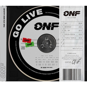[미개봉]  온앤오프 (ONF) / Go Live (4th Mini Album)