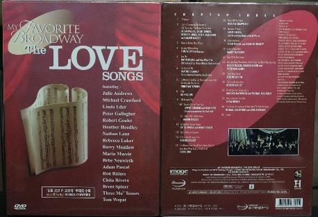 [DVD]MY FAVORITE BROADWAY LOVE SONG 팬텀 오브오페라 주제곡 수록
