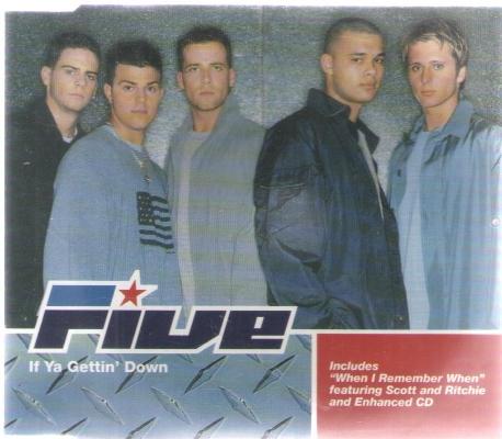 [수입] Five:If Ya Gettin' Down