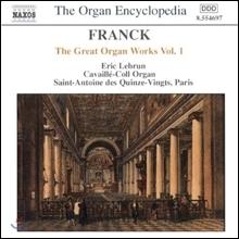 Frank The Great Organ Works Vol1