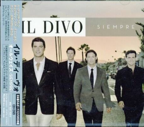 [일본반] Il Divo - Siempre [CD+DVD][포스트카드포함]