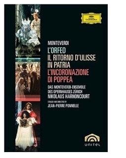 Monteverdi - L'Orfeo, L'Incoronazione di Poppea, Il Ritorno d'Ulisse in Patria (Boxset) 미개봉 새물건