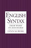 English Syntax From Word to Discourse