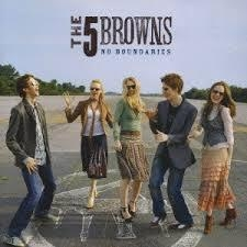 [일본반] The 5 Browns - No Boundaries [CD+DVD]