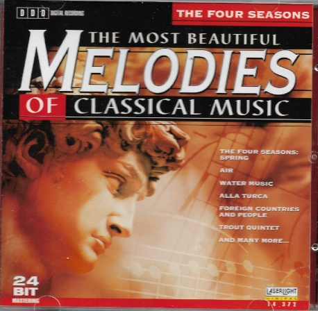 The most beautiful melodies of classical music 1 - the four seasons [수입]