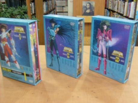 [일본원판 DVD] 聖?士星矢(Disc 1~12): 총 3개 Box 셋트 - 세인트세이야(명왕하데스) [일본직수입]