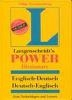 Langenscheidt's Power Dictionary :  English : E (외국도서/상품설명참조/2)