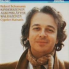 Schumann : Kinderszenen &  Ambublatter ///LP1