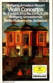 Mozart: Violin Concertos Nos. 2 & 3  ///LP1