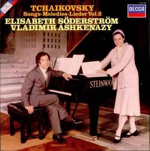 [수입][LP] Elisabeth Soderstrom, Vladimir Ashkenazy - Tchaikovsky: Songs Vol. 2