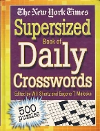 THE NEW YORK TOMES SUPERSIZED BOOK OF DAILY CROSSWORDS