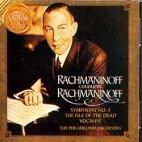 RACHMANINOV CONDUCTS RACHMANINOV (라흐마니노프가 지휘하는 라흐마니노프) [수입] 새것같은 개봉 * 교향곡 3번, 죽음의 섬, Vocalise
