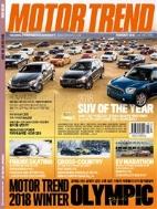 모터 트렌드 2018년-2월호 vol 149 (MOTOR TREND) (신197-6)