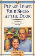 PLEASE LEAVE YOUR SHOES AT THE DOOR