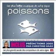 [미개봉 CD] Les Plus Belles musiques de votre signe : poissons