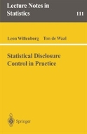 Statistical Disclosure Control in Practice (Lecture Notes in Statistics, Vol.111) (ISBN : 9780387947228)