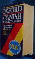 OXFORD SPANISH MINIDICTIONARY / 사진의 제품  / 상현서림 / :☞ 서고위치:OH 2 * [구매하시면 품절로 표기됩니다]