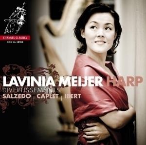 [SACD] Lavinia Meijer / 살체도 : 세 개의 소품, 카플레: 디베르티스망 & 이베르 : 여섯 개의 소품 (Salzedo : Trois Morceaux) (SACD Hybrid/수입/CCSSA28908)