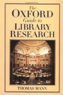 The Oxford Guide to Library Research (ISBN : 9780195123128)