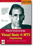 (Professional) Visual Basic 6 MTS Programming