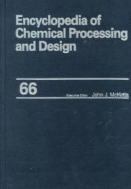 Encyclopedia of Chemical Processing and Design, Vol. 66 : Wastewater Treatment with Ozone to Water and Wastewater Treatment (ISBN : 9780824726171)