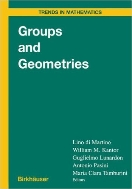 Groups and Geometries (ISBN : 9783764358815)