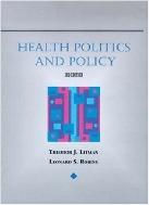 Health Politics and Policy, 3/ed  (ISBN : 9780827367760)