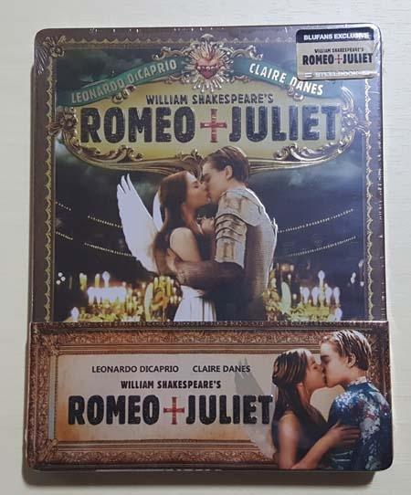 (블루팬) 로미오와 줄리엣 : 쿼터슬립 스틸북