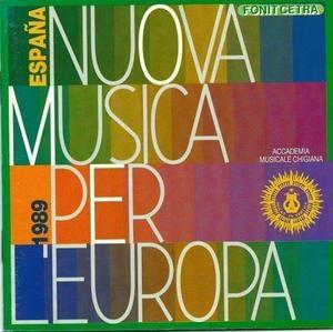 [미개봉] V.A. / Nuova Musica Per L'europa (수입/미개봉)
