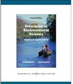 Principles of Environmental Science Paperback 4/E #