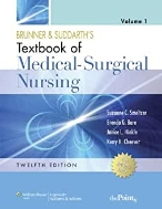 Textbook of Medical Surgical Nursing(vol1, 2) (BRUNNER&SUDDARTH'S) TWELFTH EDITION