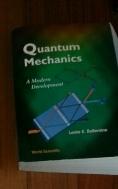 Quantum Mecahnics : A Modern Development