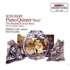 Felicity Lott, Nash Ensemble / Schubert:Trout Quintet (수입/mcad25867)
