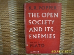 ROUTLEDGE / THE OPEN SOCIETY AND ITS ENEMIES Vol.1 PLATO / K.R. POPPER -사진.꼭상세란참조