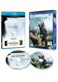 [블루레이] 미션 : 30주년 기념 패키지 콤보팩 한정판 (2disc: BD+DVD) / (미개봉) 2disc(BD+DVD)/아웃케이스