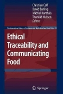 Ethical Traceability and Communicating Food (ISBN : 9781402085239)