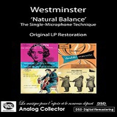 [미개봉] V.A. / 미국 웨스트민스터 초반, 재반 LP복각 시리즈 - 내츄럴 밸런스 (야니그로 첼로 작품 수록) (3CD/수입/미개봉/CDSMAC008)